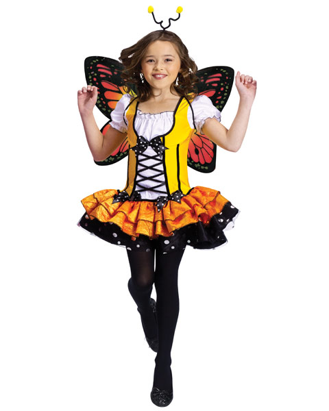 Butterfly Princess Child Girls Costume