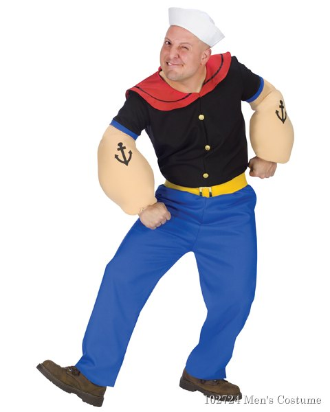 Popeye Costume for Adult