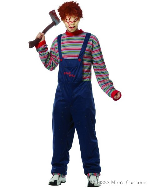 Adult Chucky Costume w/Mask (Licensed)