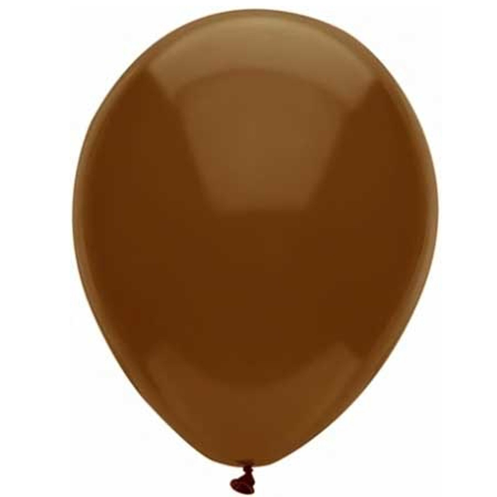 "Brown 11"" Latex Balloons (6 count)"