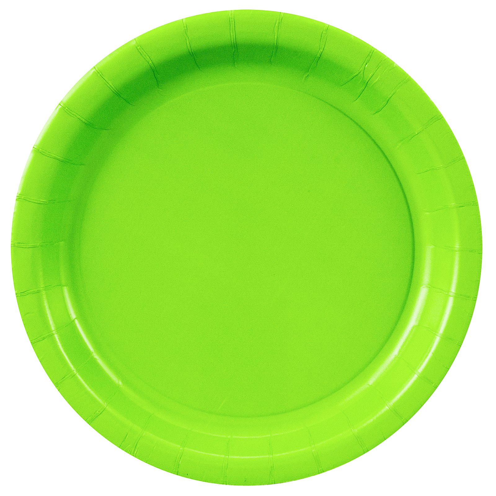 Fresh Lime (Lime Green) Dinner Plates (24 count)