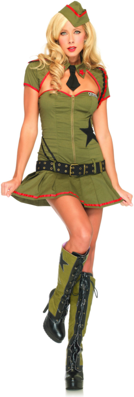 Private Pin Up Adult Costume